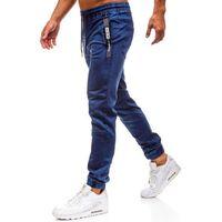 Spodnie jeansowe joggery męskie granatowe denley y257c marki Red fireball
