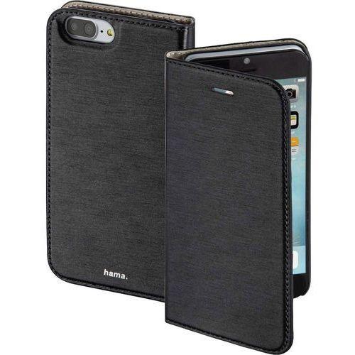 Hama Etui flip do iphone  00177825, booklet slim, pasuje do modelu telefonu: apple iphone 7 plus, czarny
