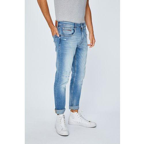 - jeansy modern tapered marki Tommy jeans