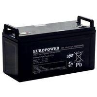 Europower Akumulator 12v 100 ah agm epl żywotność powyżej 15 lat
