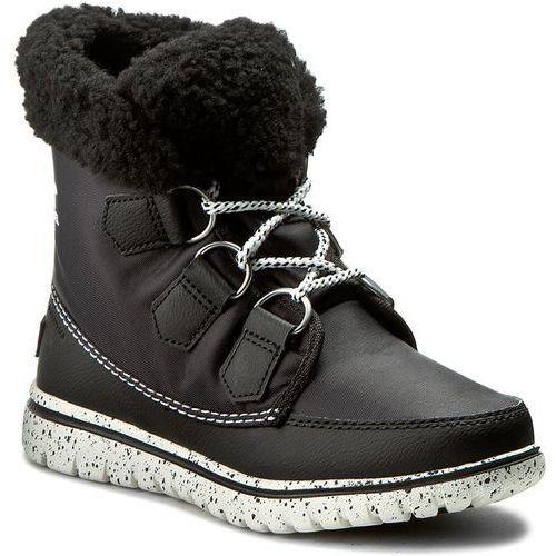 Śniegowce SOREL - Cozy Carnival NL2297-010 Black/Sea Salt