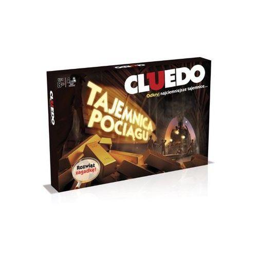 Winning moves Cluedo. tajemnica pociągu - hasbro (5036905028998)