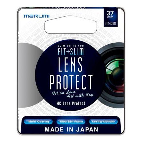 fit + slim filtr fotograficzny lens protect 37mm marki Marumi