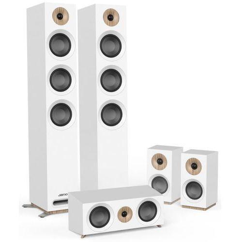 Zestaw głośników JAMO S-809 HCS Biały + Zamów z DOSTAWĄ JUTRO! (5709009003184)