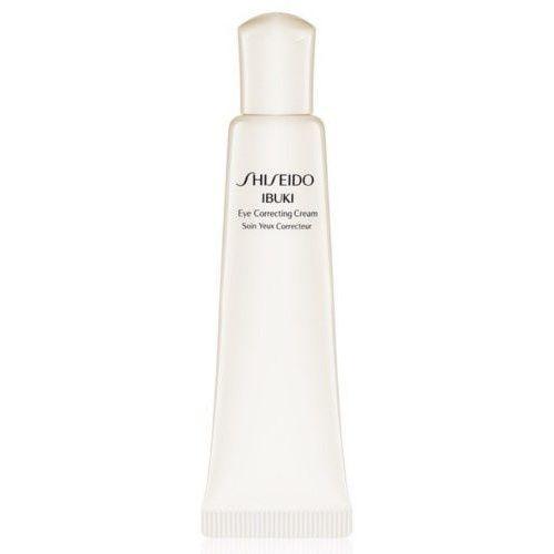 nawilżający krem pod oczy na zmarszczki, obrzęki i cienie pod (eye correcting ) ibuki (eye correct marki Shiseido
