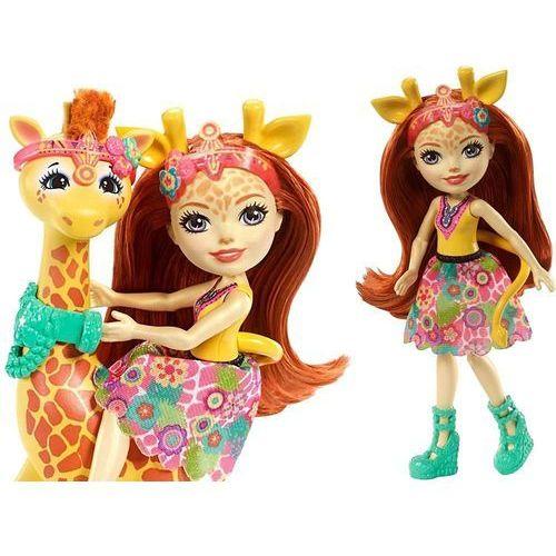 Enchantimals lalka gillian duże zwierzę żyrafa tv marki Mattel