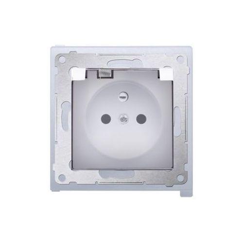 Kontakt-simon Gniazdo pojedyncze hermetyczne ip44 białe dgz1bz.01/11a kontakt simon54 rabaty (5902787824150)