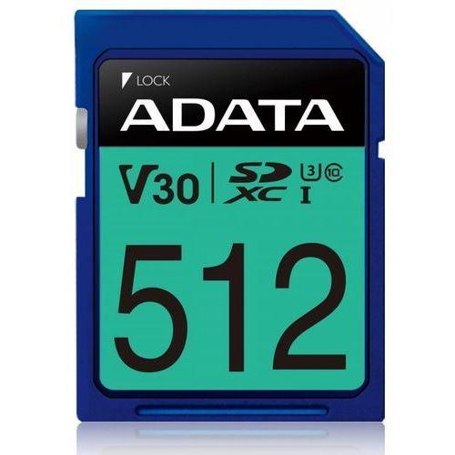 Karta pamięci ADATA SDXC Premier Pro 512GB DARMOWY TRANSPORT (4713218468055)