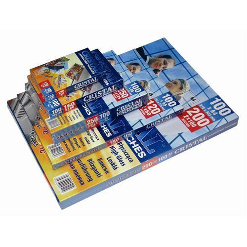 Folia laminacyjna antystatyczna 250mic 60x95 x100 marki Laminowanie