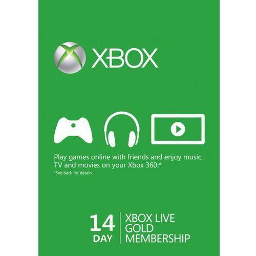 XBOX LIVE GOLD TRIAL 14 DNI - sprawdź w wybranym sklepie