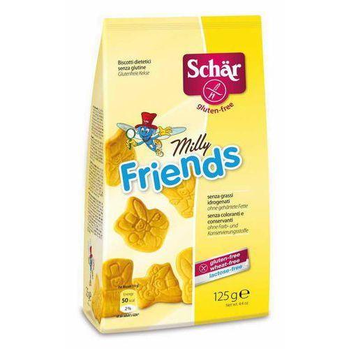Schar Milly friends- herbatniki bezglutenowe 125g , kategoria: pozostałe ciasta i słodycze