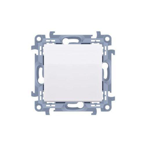 Łącznik jednobiegunowy Simon 10 CW1.01/11 pojedynczy biały Kontakt-Simon (5902787841171)