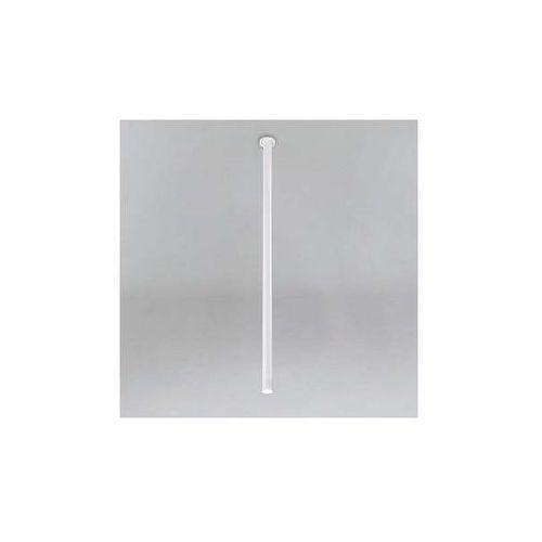 Podtynkowa LAMPA sufitowa ALHA T 9000/G9/1200/BI Shilo minimalistyczna OPRAWA metalowa do zabudowy sopel tuba biała