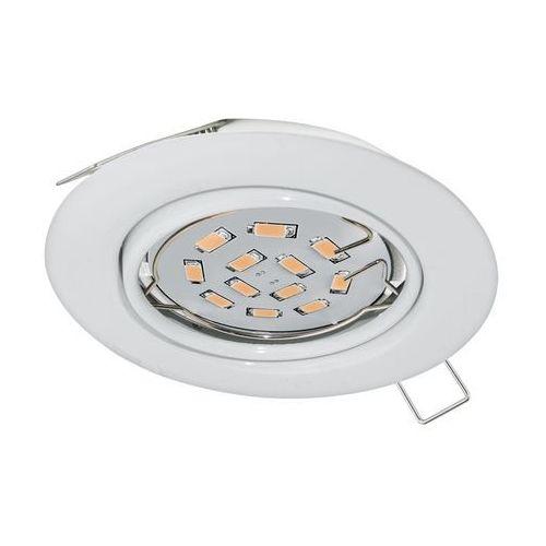 Eglo Plafon peneto 94239 lampa oprawa wpuszczana downlight oczko 1x5w gu10-led biały (9002759942397)