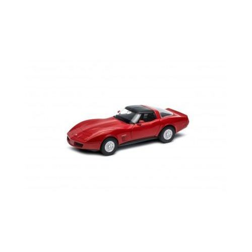 Welly Chevrolet 1982 corvette coupe 1/34 - darmowa dostawa od 199 zł!!!