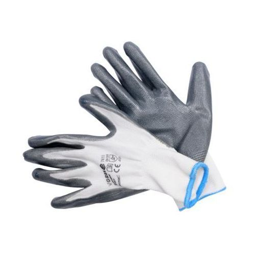 Rękawice robocze VOREL 74154 Szary (rozmiar 10)