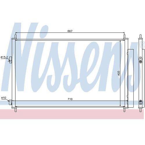 Skraplacz, klimatyzacja NISSENS 940021
