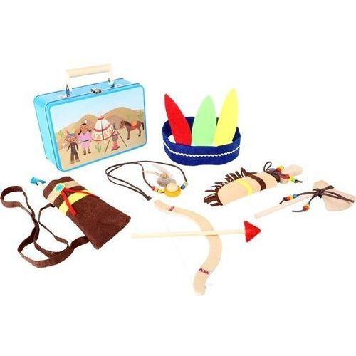 Small foot design Walizka z akcesoriami indiańskimi - zabawka dla dzieci