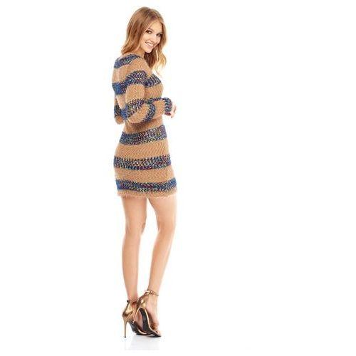 Sukienka Vista w kolorze beżowym, kolor beżowy