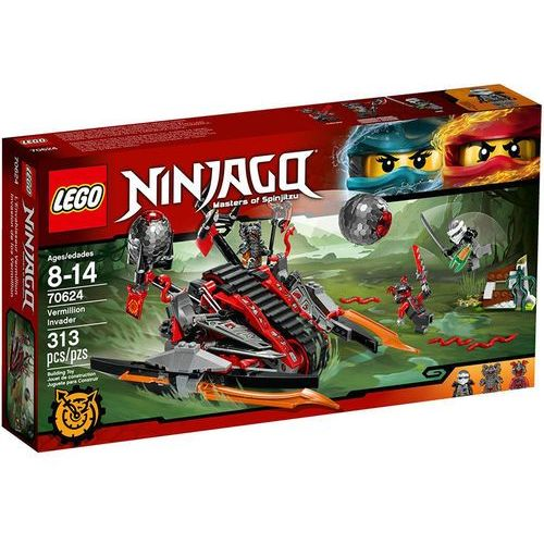 LEGO NINJAGO, Cynobrowy Najeźdźca, 70624