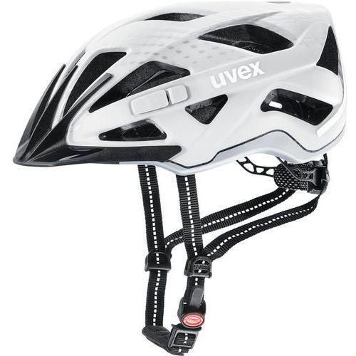 city active kask rowerowy, white matt 52-57cm 2019 kaski miejskie i trekkingowe marki Uvex