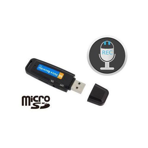 Mobilny Mikro-Podsłuch Nagrywający, Ukryty w Pendrive (na mikro-karty SD).