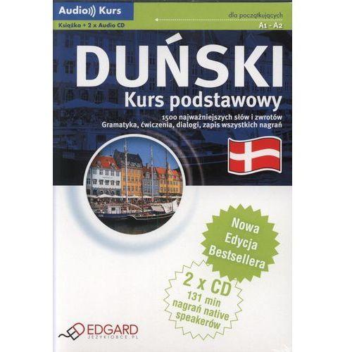 Duński - Kurs Podstawowy. Kurs Audio (Książka + 2 Cd). Nowa Edycja, oprawa twarda
