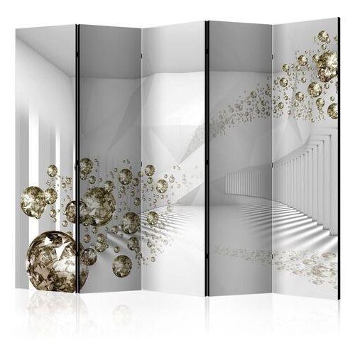 Parawan 5-częściowy - diamentowy korytarz ii [room dividers] marki Artgeist