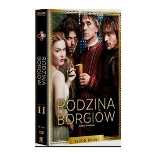 Imperial cinepix Rodzina borgiów: sezon 2 (dvd) - neil jordan, jeremy podeswa darmowa dostawa kiosk ruchu
