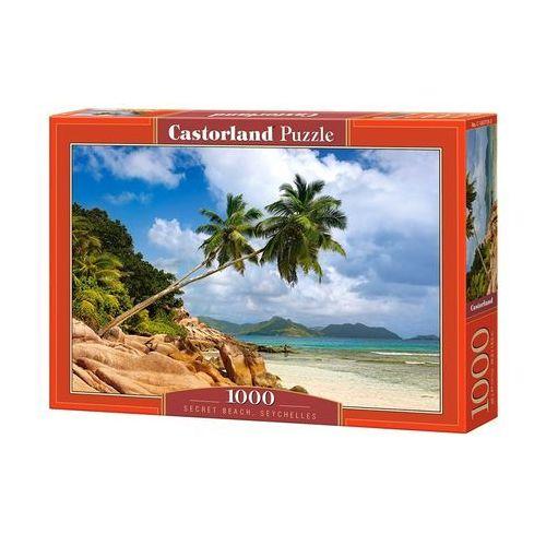 Puzzle 1000 Secret Beach, Seychelles - Castor OD 24,99zł DARMOWA DOSTAWA KIOSK RUCHU, 5_620395