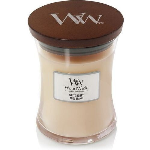 Świeca Core WoodWick White Honey średnia, 92026E
