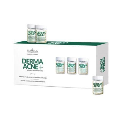 dermaacne + koncentrat aktywnie normalizujący marki Farmona