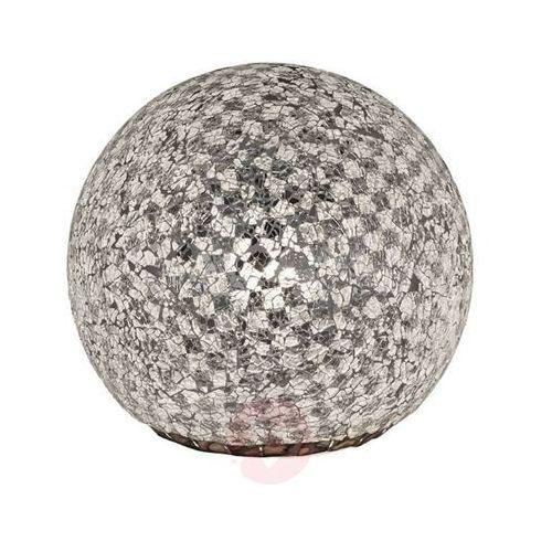 mosaique lampa stołowa srebrny - nowoczesny - obszar wewnętrzny - mosaique - czas dostawy: od 4-8 dni roboczych marki Trio