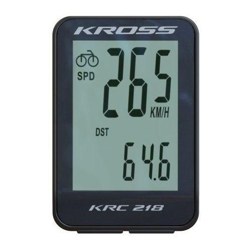 Licznik rowerowy krc 218 18 funkcji t4cli000155 czarny marki Kross