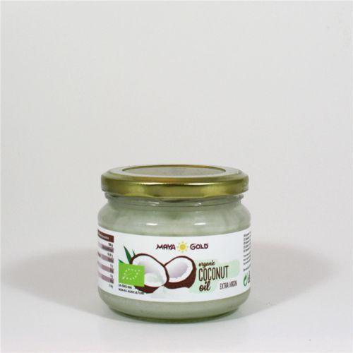 Olej kokosowy virgin BIO 250ml - MAYA GOLD, 8718819120278