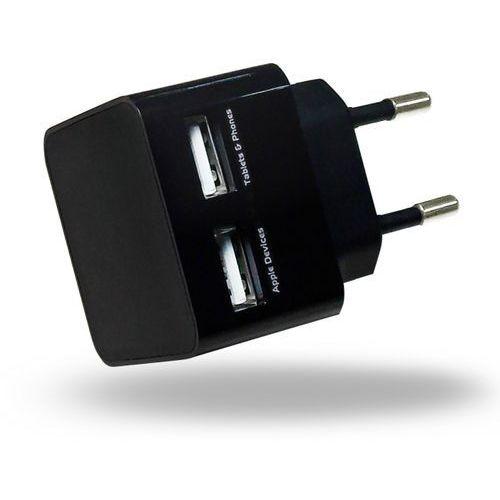 Azuri  home charger 2x usb 2a czarny