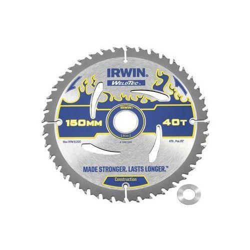 Tarcza do pilarki tarczowej 150mm/40t/20(16) śr. 150 mm 40 z marki Irwin weldtec