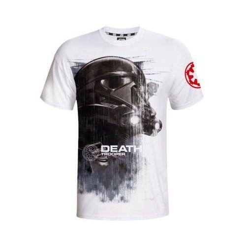 Koszulka Star Wars Death Trooper Biała rozmiar XL (5908305215073)