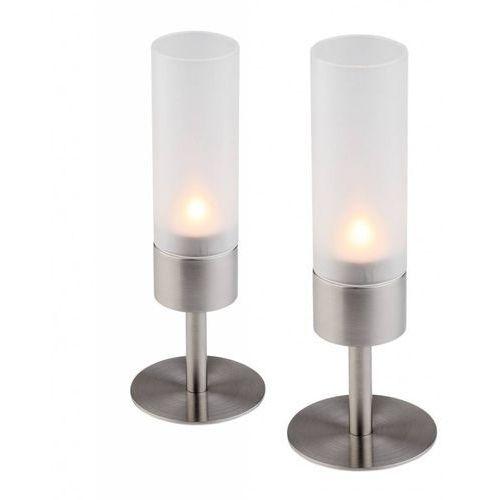 Świecznik Tealight Ø80x220 mm | Zestaw 2 szt.