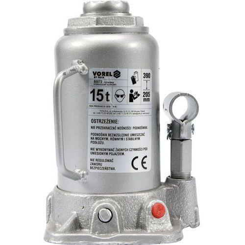 Podnośnik hydrauliczny słupkowy 15t / 80072 /  - zyskaj rabat 30 zł marki Vorel