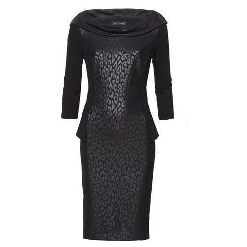 Sukienka (Kolor: czarny, Rozmiar: 46), VV/O/4529