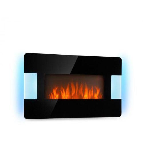 Klarstein belfort light & fire kominek elektryczny 1000/2000 w kolor czarny