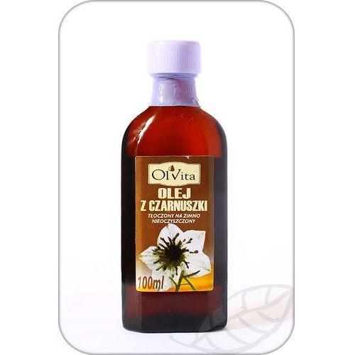 Olej z czarnuszki tłoczony na zimno, nieoczyszczony 100ml - olvita marki Ol'vita