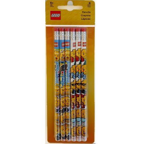 51140 zestaw ołówki z gumkami - gadżety marki Lego