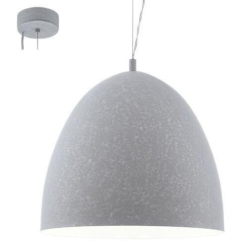 Eglo Lampa wisząca sarabia 94354 metalowa oprawa zwis szary (9002759943547)