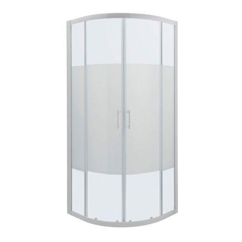 Cooke&lewis Kabina prysznicowa półokrągła onega 80 cm biały/wzór (3663602944263)