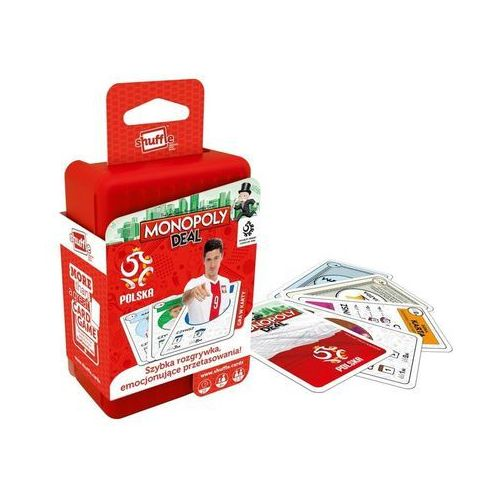Cartamundi Gra karciana shuffle - monopoly deal pzpn (5411068032790)