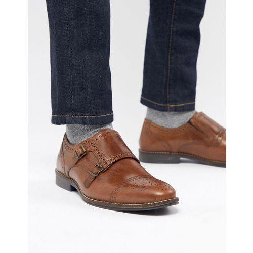 monk shoes in tan - tan marki Red tape