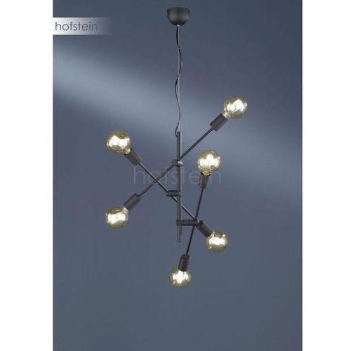 Trio CROSS Lampa Wisząca Czarny, 6-punktowe - Nowoczesny - Obszar wewnętrzny - CROSS - Czas dostawy: od 3-6 dni roboczych (4017807373912)