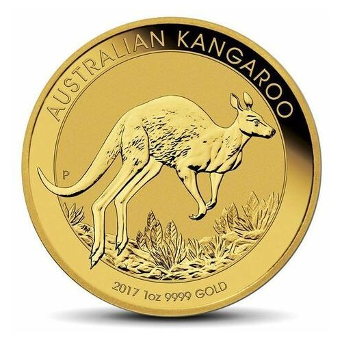 Perth mint Moneta australijski kangur 1 uncja złota